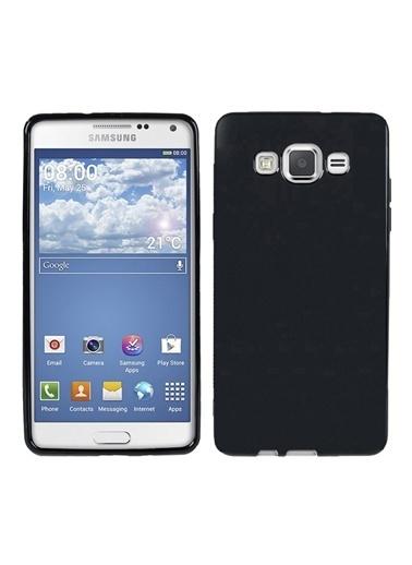 Microsonic Glossy Soft Galaxy Grand Prime Kılıf Siyah Renkli